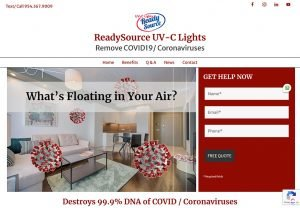 ReadySource UV-C Lights